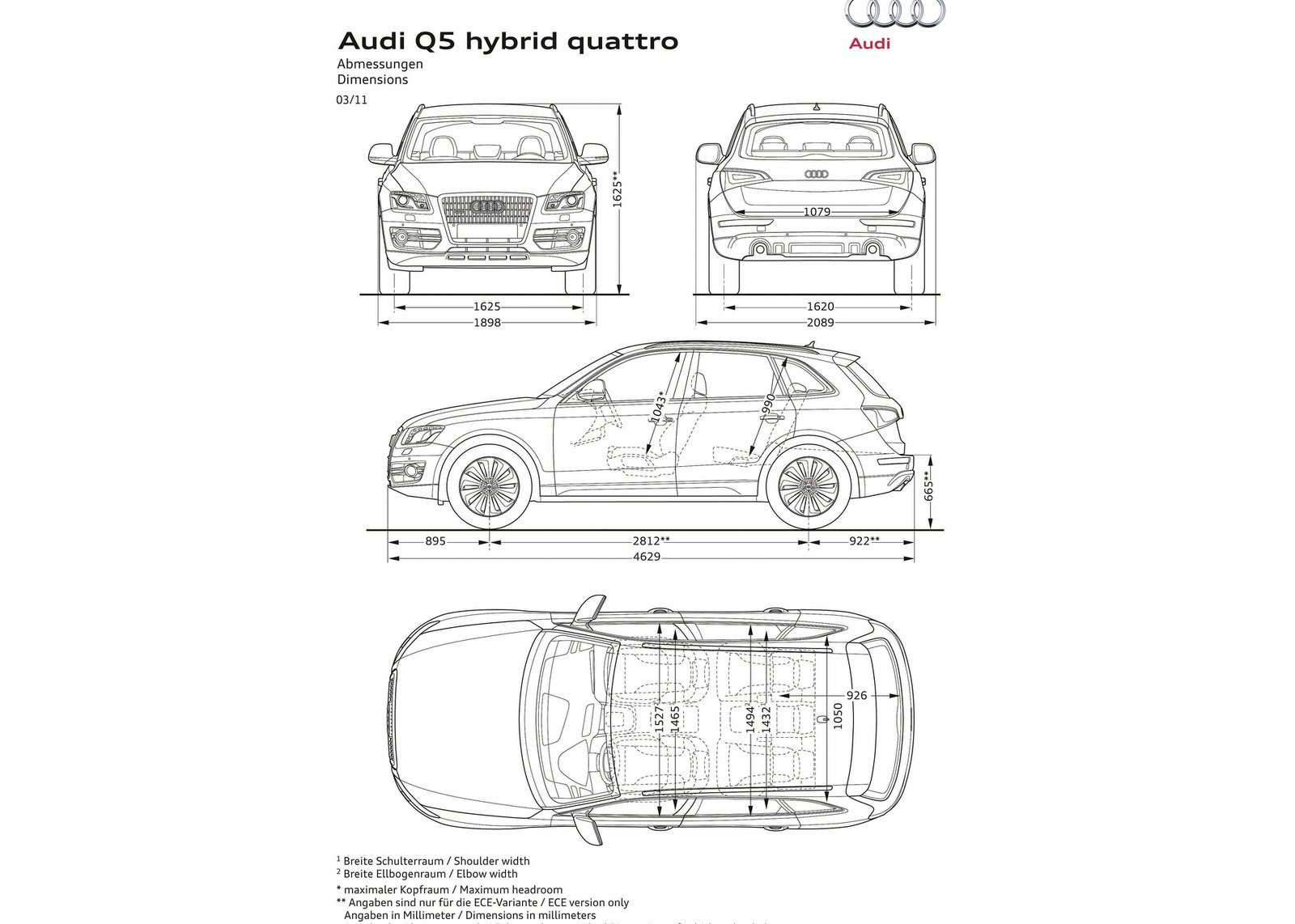2012 Audi Q5 Hybrid Wallpapers The World Of Audi