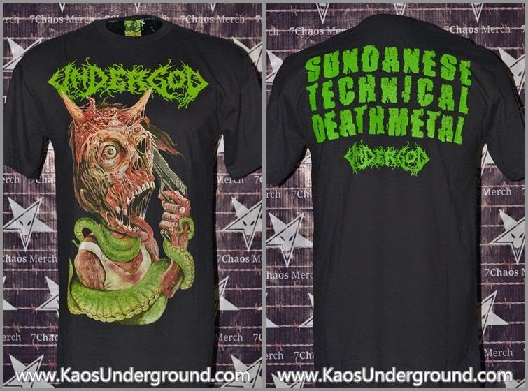 band undergod kaosunderground bandung sevenchaos merch heretic