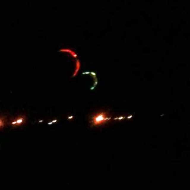 kitsurf kiteboarding led light night session