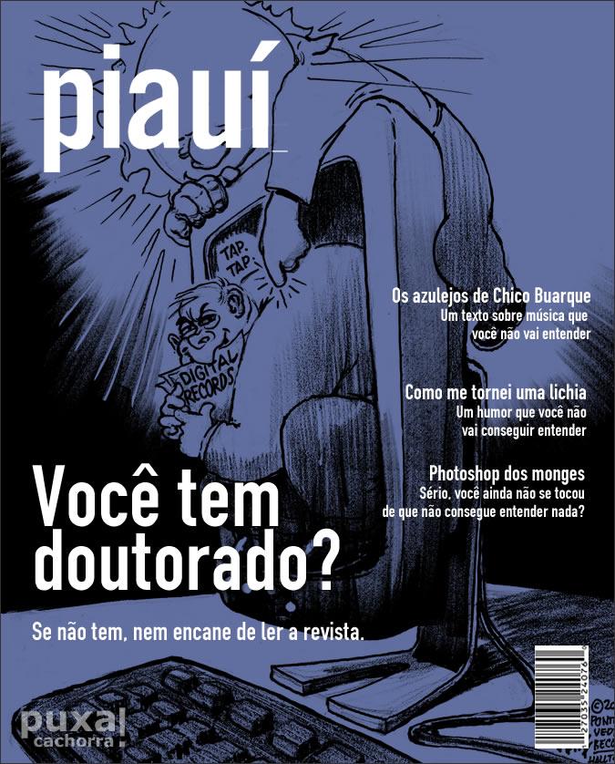 Revistas com capas realistas Piaui_sincera