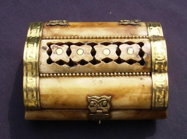 Indian Bone Jewellery Box