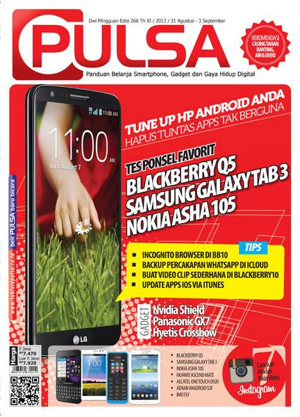 Tabloid Pulsa Edisi 266 | 21 Agustus 2013 - 03 September 2013