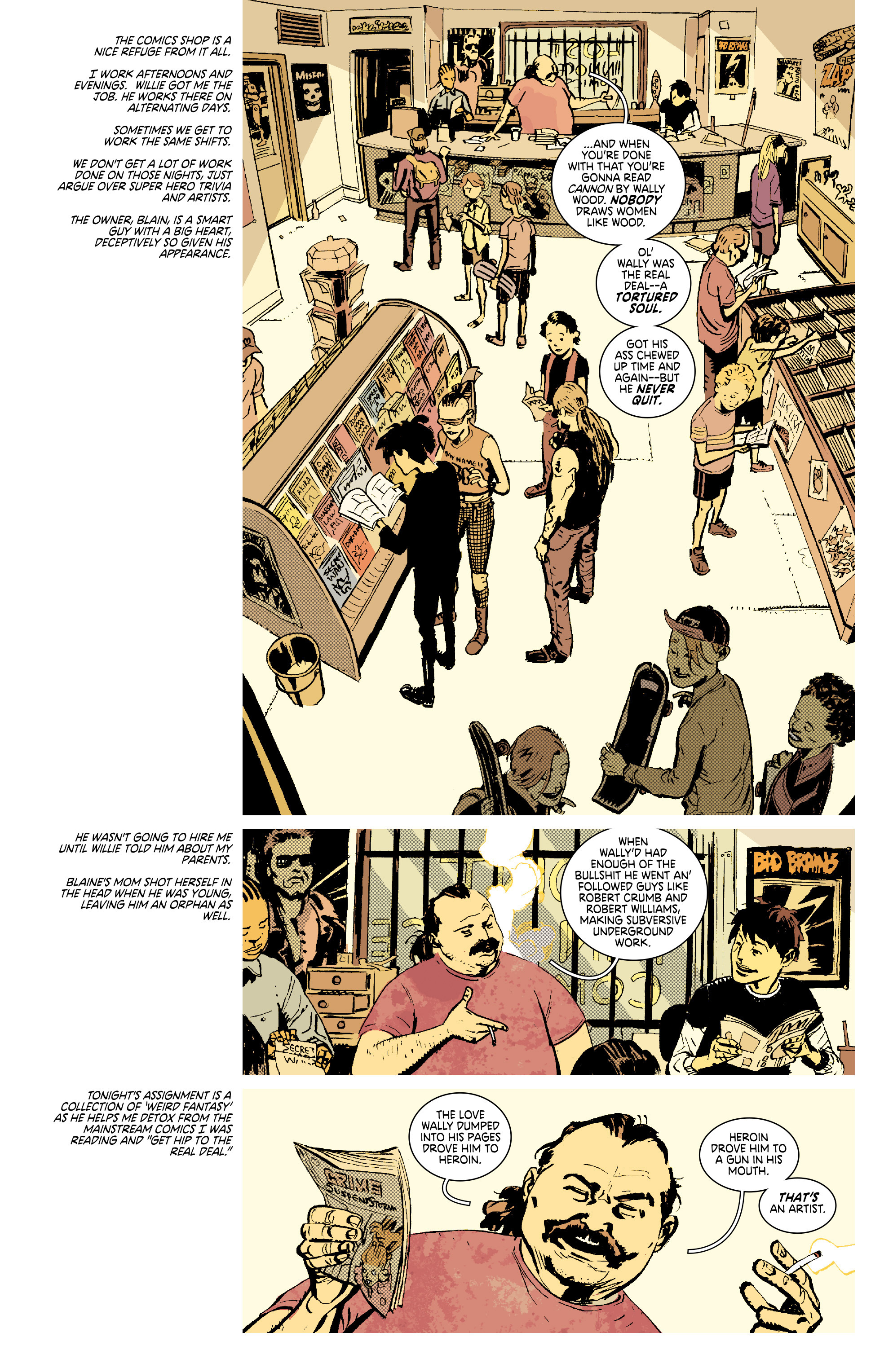 Read online Deadly Class comic -  Issue #7 - 9