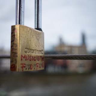 Love Padlocks – If Music Be… © Graham Dew, 2013