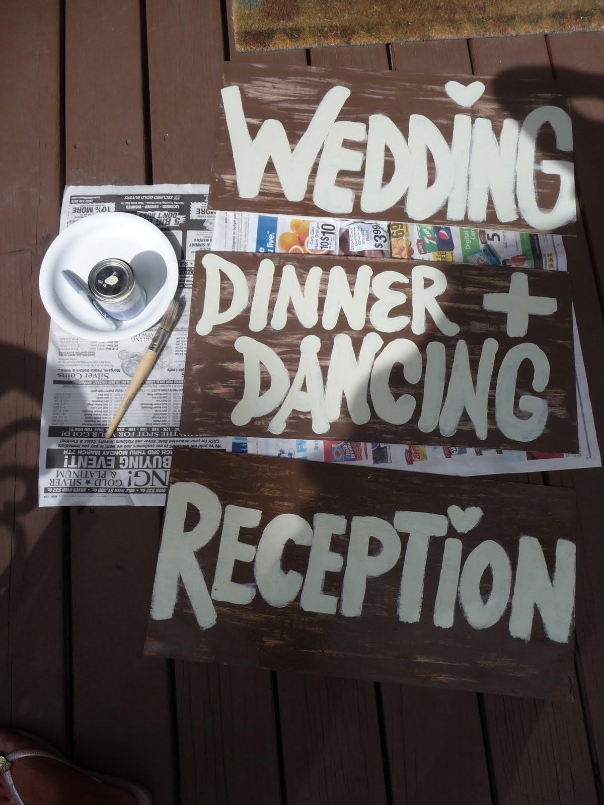 Vintage Amp Lace Weddings Vintage Wedding Signs DIY Project