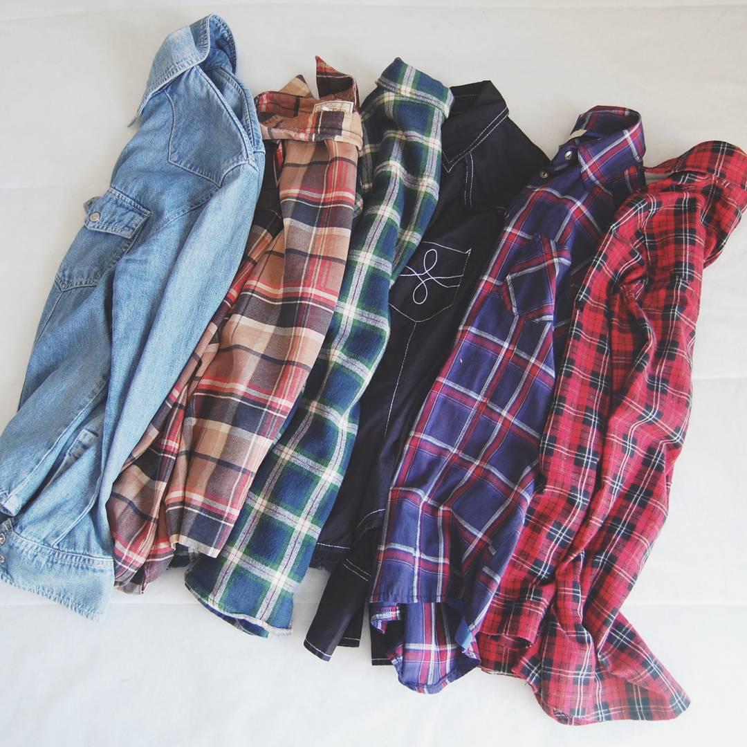 camisas-tartan-cuadros-moda-otoño
