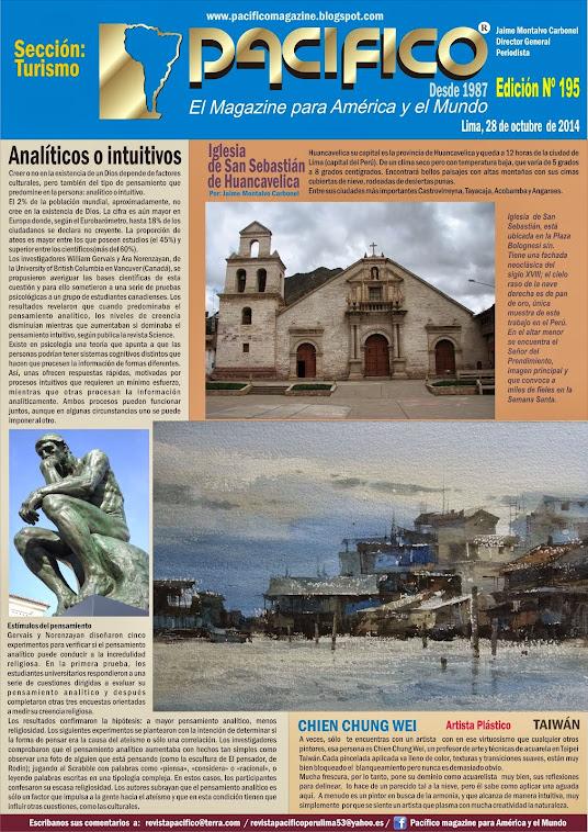 Revista Pacífico Nº 195 Turismo