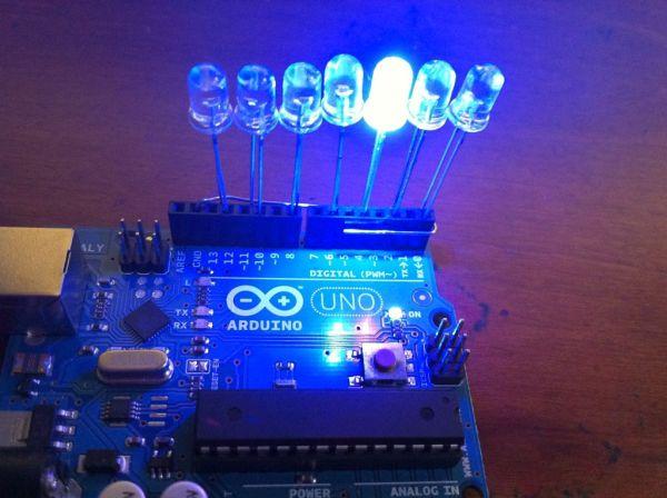 Arduino syncs lights to music paralluminati