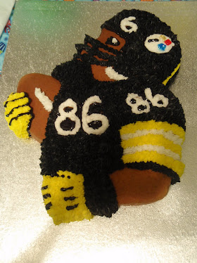 Hines Ward.... In cake form