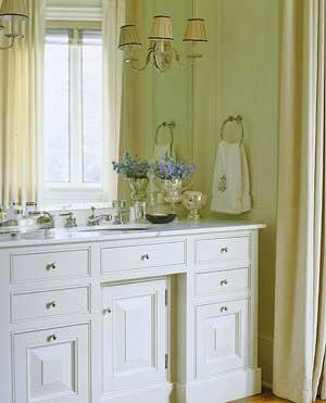 Wall INterior Mounted Vanity Bathroom