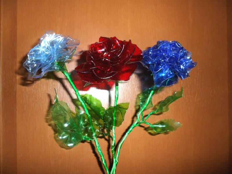 Цветы пластиковых бутылок своими руками мастер класс