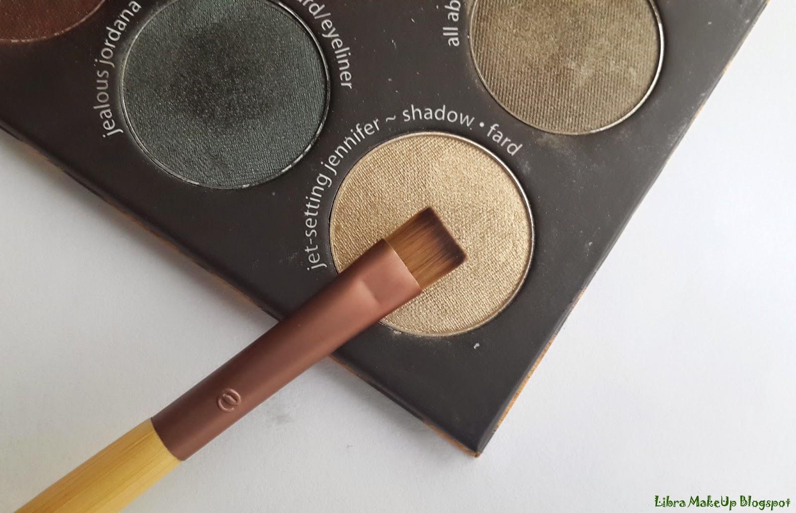 Ecotools Flat Eyeliner Fırçası, ecotools eyeliner brush, ecotools brush, eyeshadow brush,