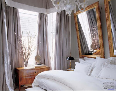 Heart maine home dreaming of white bedding for Elle decoration bed linen