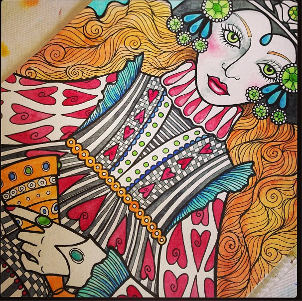 More Sneak Peeks At My Tarot Coloring Book Coming Out Next Year