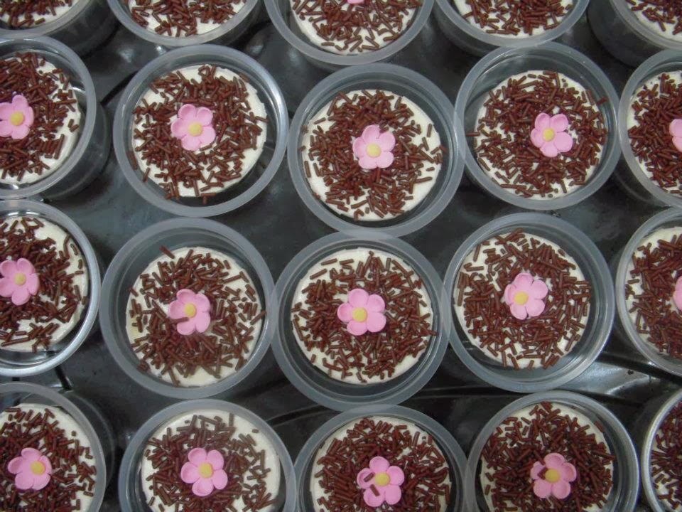 Buttercream Moist Chocolate Cup Cake Ipoh Wedding Door Gift