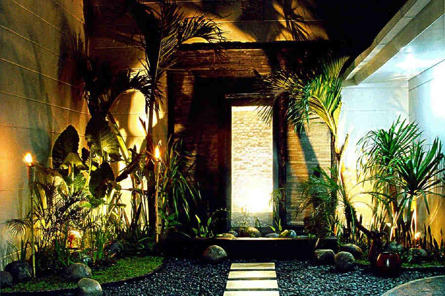 Angel landscape balinese landscape for Balinese garden design