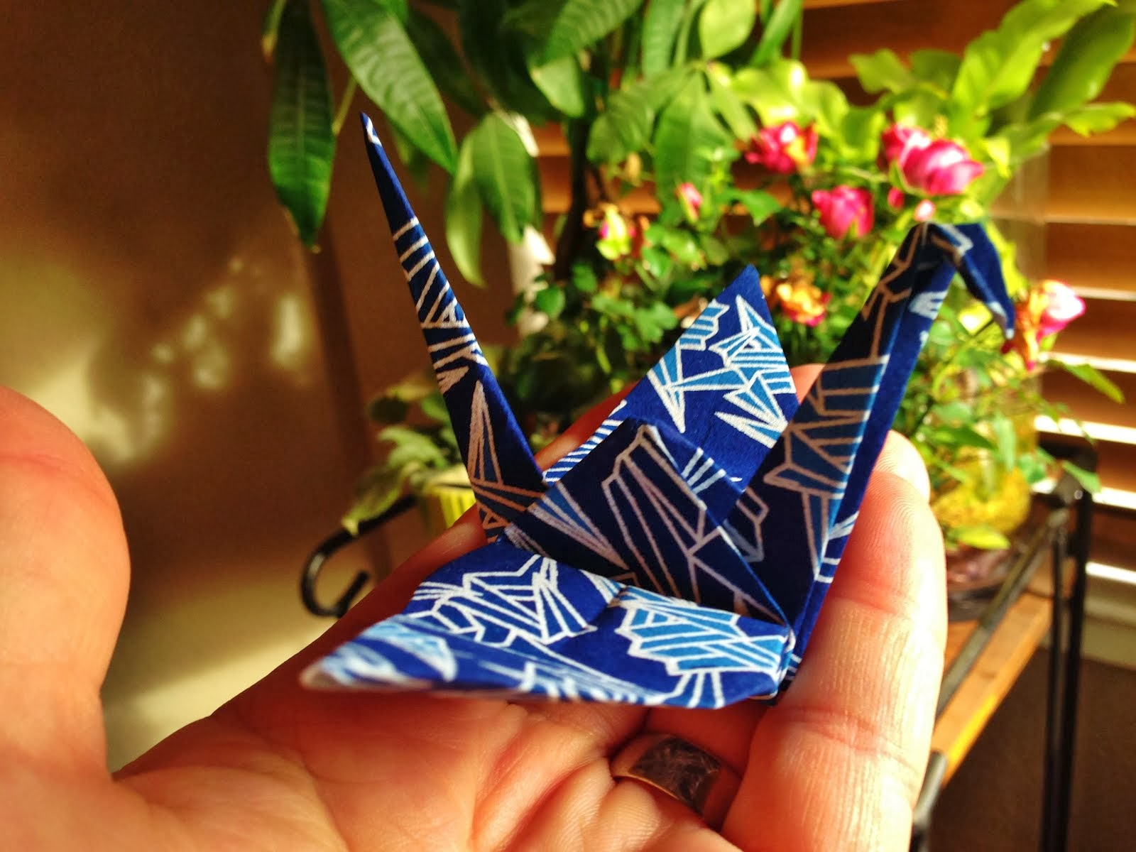 Peace Love Cranes