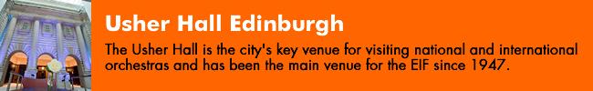 Usher Hall Edinburgh