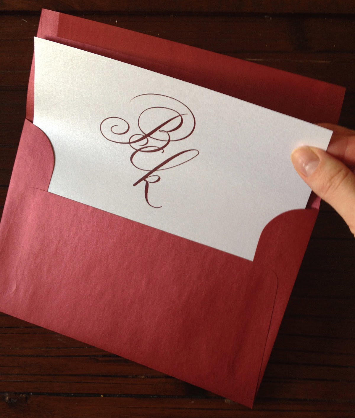 DIY Class: Creating a Custom Envelope Liner | 1st Impressions ...