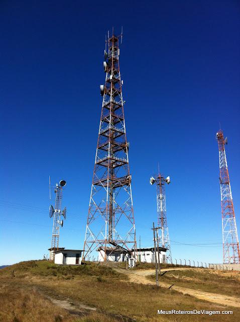 Antenas no Mirante da Serra da Boa Vista - Rancho Queimado / SC