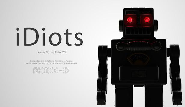 Big LazyRobot corto iDiots