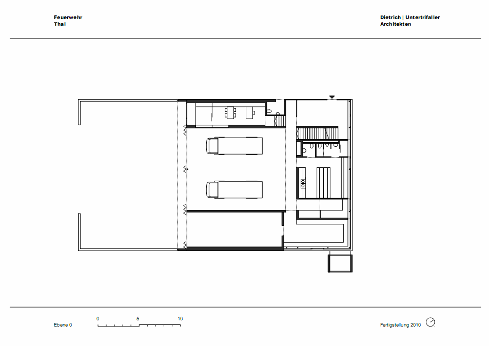 alberta norweg: fire station in sulzberg-thal / dietrich