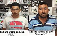 Policiais Civis de Picuí prendem condenados do Algodão de Jandaíra