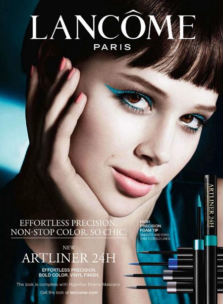 Lancôme lança nova campanha Artliner 24h