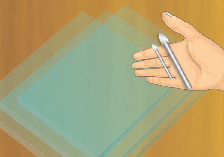 Сверления стекла в домашних условиях