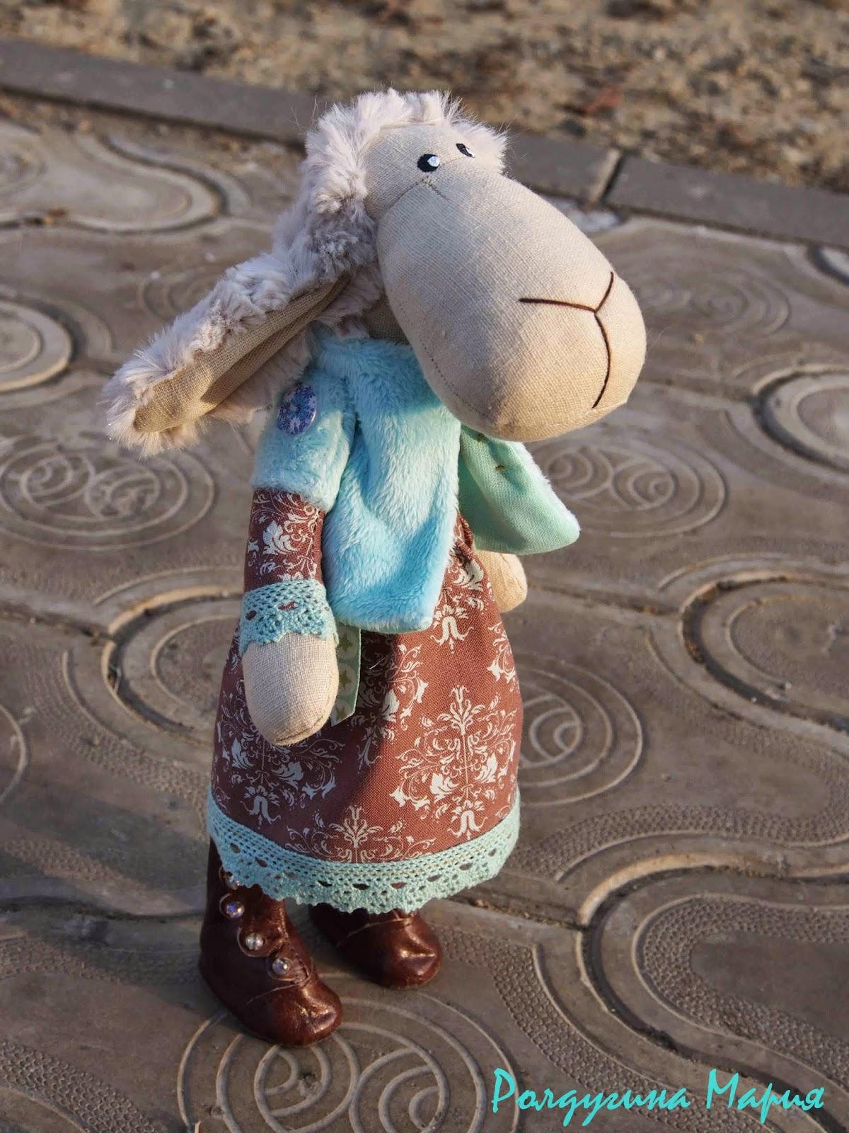 овечка в подарок игрушка