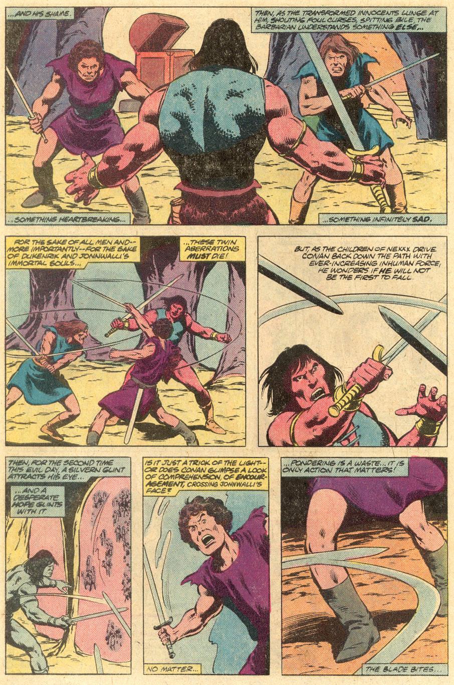 Conan the Barbarian (1970) Issue #125 #137 - English 22