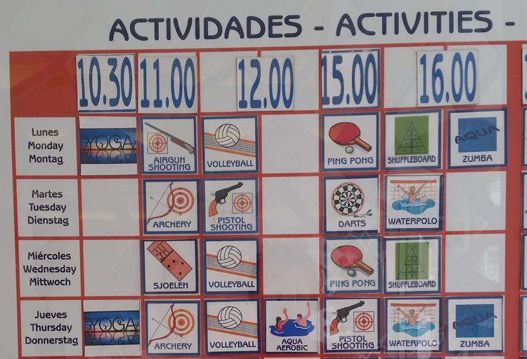 Aktivitäten Playa de Muro Suites Hotel