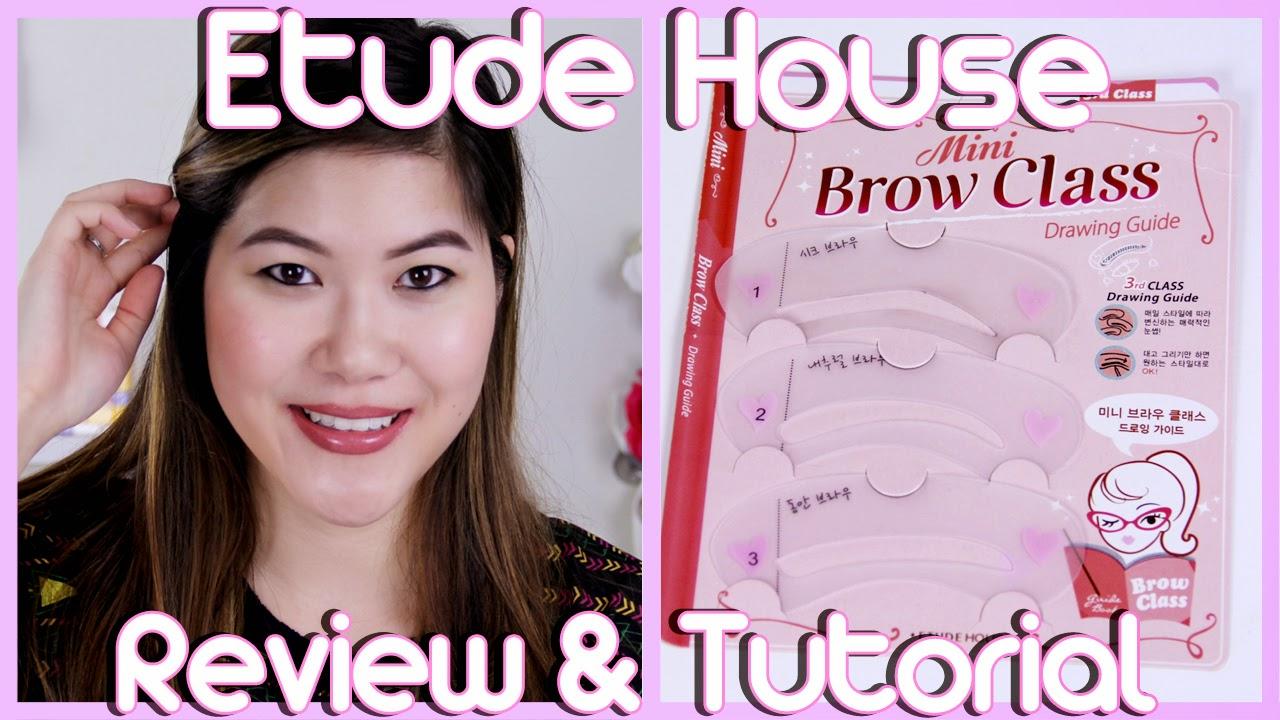 Decorateyou Etude House Mini Brow Class 3rd Class Drawing Guide