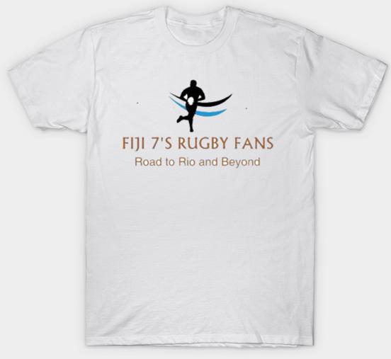 FIJI 7S RUGBY FANS T-SHIRT