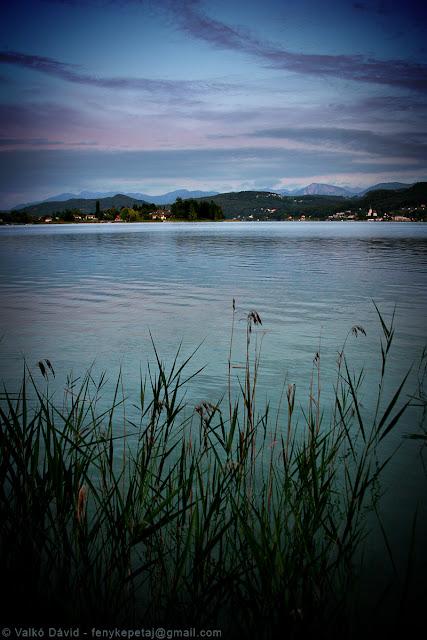 Wörthi-tó, Karintia, Ausztria