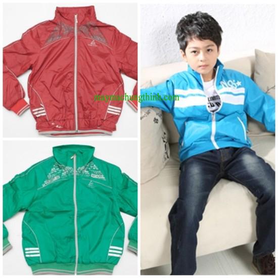 áo khoác gió trẻ em