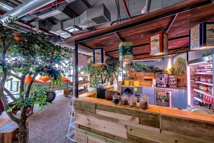 World Of Architecture New Google Office In Tel Aviv Israel