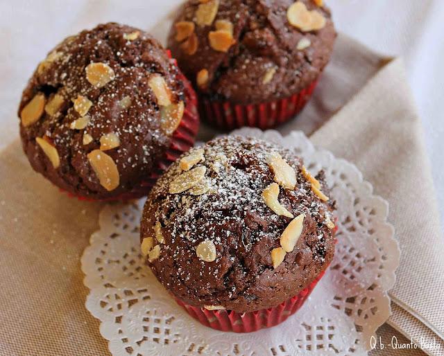 Quanto Basta.: Muffin al cacao con cuore morbido
