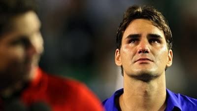 Roger Federer rompe a llorar tras perder la final del abierto de Australia en 2009