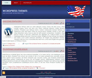 political patriotic wordpress thehes