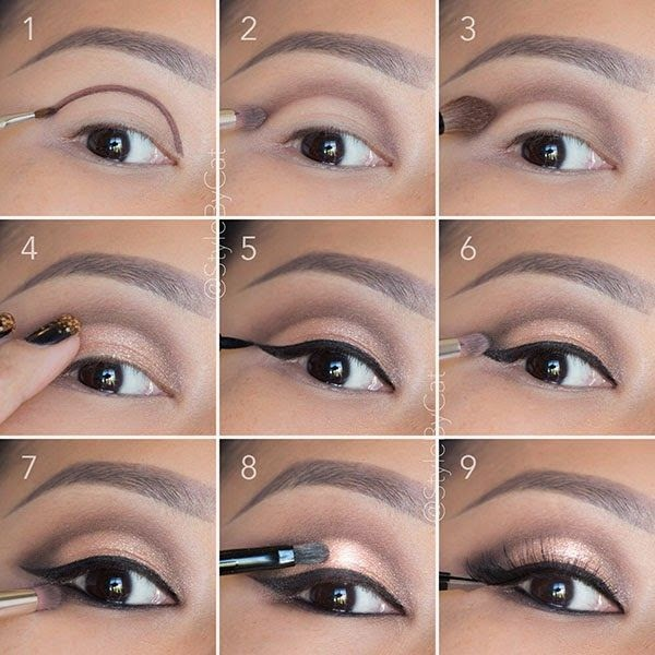Makeup evening makeup Easy  and Tutorials natural Eye Quick Smokey dashingamrit: tutorial