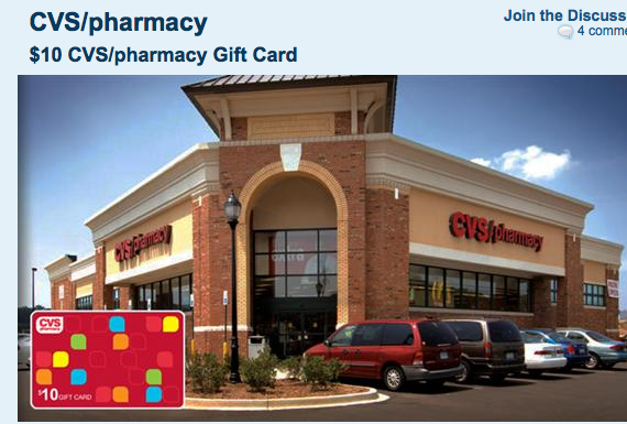 free is my life  deal   5 for a  10 cvs  pharmacy gift card