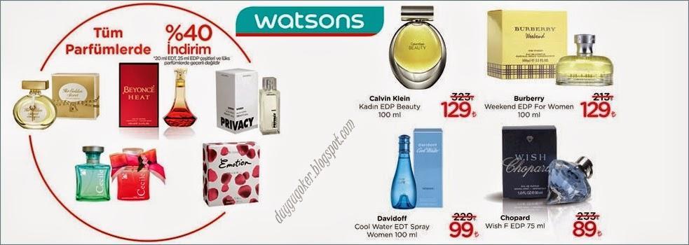 Watsons Kadınlar Günü İndirimi Parfüm