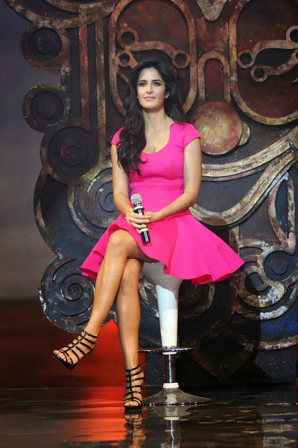 Katrina Kaif Showing Milky White thighs HD Wallpaper