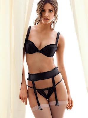 Barbara Palvin hot sexy body Victoria's Secret sexy lingerie models photoshoot