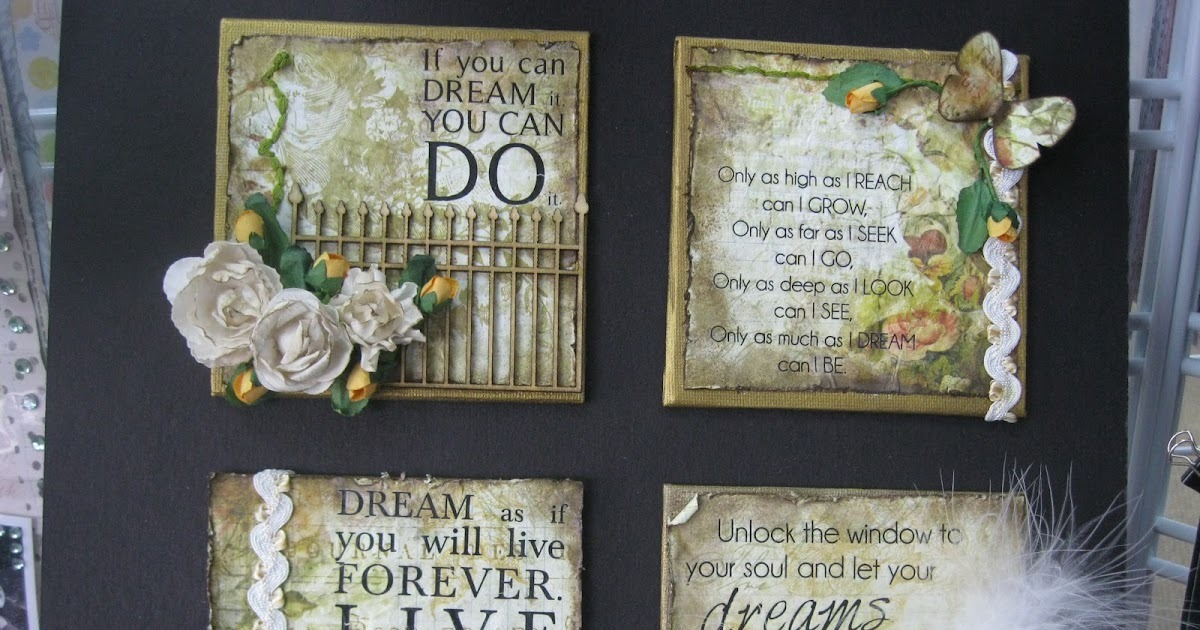 Free Scrapbooking Ideas Inspirational Quote Canvases