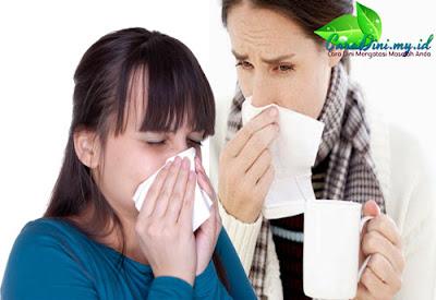 Cara Alami mengobati flu paling Ampuh