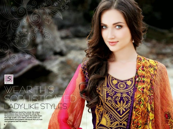 Shaista Summer Collection 2014