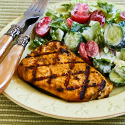 Recipe for Grilled Halibut with Cumin and Lime | Kalyn's Kitchen®