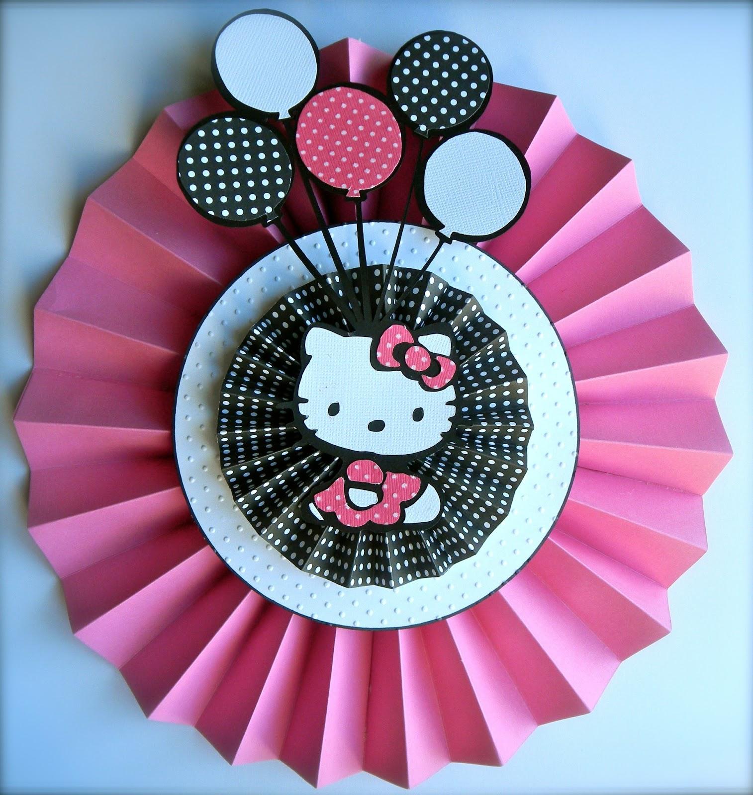 Hello kitty scrapbook ideas - Hello Kitty Cricut Ideas